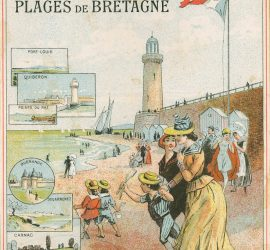 Billets de bains de mer. Saison de 1890. Chromo 98. Médiathèque du Grand Troyes. Photo: P. Jacquinot